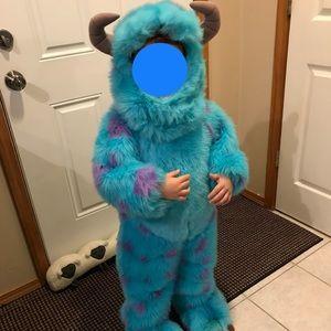 Disney kids Sulley Monsters Inc Costume